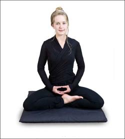 ćwierć lotos medytacja